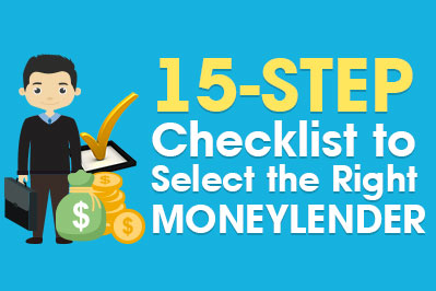 15-Step Checklist to Select the Right Moneylender